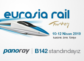 Ülkemiz'de yenilikçi ve ilklerin temsilcisi Panoray firması olarak 10-12 Nisan 2019 tarihinde İzmir'de yapılacak EURASIA RAIL Fuarında …