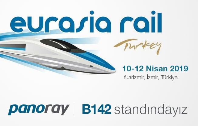 Ülkemiz'de yenilkçi ve ilklerin temsilcisi Panoray firması olarak 10-12 nisan 2019 tarihinde İzmir'de yapılacak Eurasia Rail Fuarında …