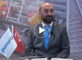 Panoray, İzmir Eurasia Rail Fuarında FUAR TV'nin konuğu oldu.